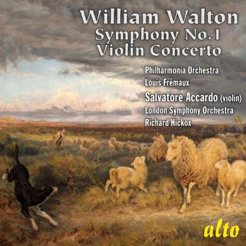 Walton: Symphony No. 1; Violin Concerto in B minor by Various Artists