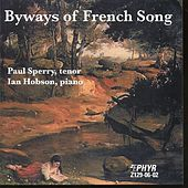 Byways Of French Song by Paul Sperry