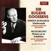 Goossens conducts Rimsky-Korsakov and Mussorgsky / Ravel by London Symphony Orchestra