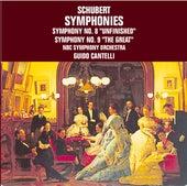 Franz Schubert: Symphonies No. 8 & No. 9 by NBC Symphony Orchestra