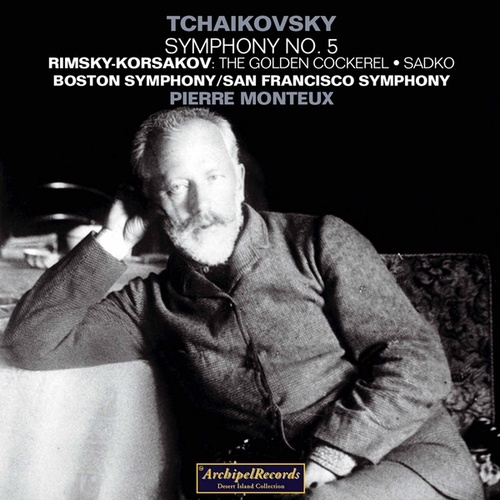 Piotr Iljic Tchaikovsky : Symphony No. 5 - Nikolaj Rimsky-Korsakov : The Golden Cockerel, Sadko by Various Artists