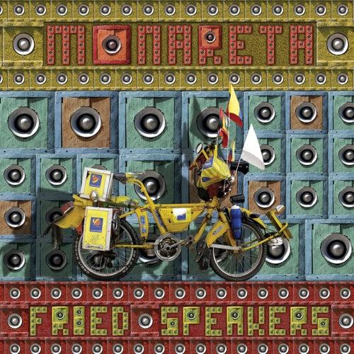Fried Speakers by Monareta