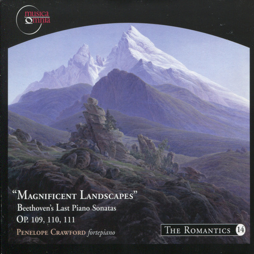 Beethoven: Sonata's No. 30, 31 & 32 - 'Magnificant Landscapes' von Penelope Crawford