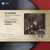 Schubert: Symphonies 8 'Unfinished' & 9 'Great' by Herbert Von Karajan