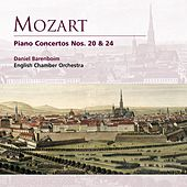 Mozart: Piano Concertos Nos. 20 & 24 by Various Artists