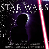 The Star Wars Trilogy: Episodes IV-VI - Music From Star Wars-A New Hope, The Empire Strikes Back & Return Of The Jedi by The Big Movie Orchestra