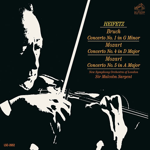 Bruch: Violin Concerto No. 1 in G Minor, Op. 26; Mozart: Violin Concertos No. 4 in D Major, K.218 & No. 5 in A Major, K.219 - Sony Classical Originals by Various Artists