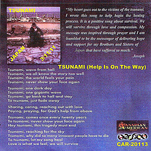 Tsunami (Help Is On The Way) by Joey Welz