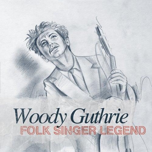Folk Singer Legend by Leadbelly