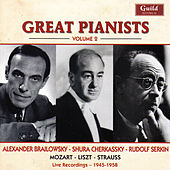 Great Pianists - Vol. 2, Brailowsky, Cherkassky, Serkin by Various Artists