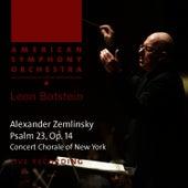 Zemlinsky: Psalm 23, Op. 14 by American Symphony Orchestra