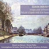 Debussy: Images pour orchestre; Prélude á l'après-midi d'un faune by Various Artists