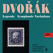Dvořák: Legends, Symphonic Variations by Czech Philharmonic Orchestra