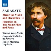 Sarasate: Music for Violin and Orchestra, Vol. 3 by Various Artists