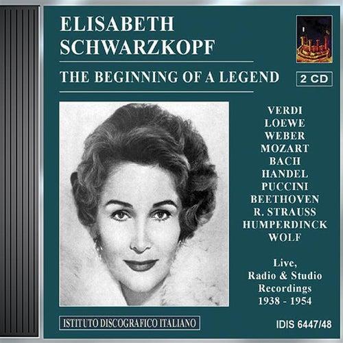 Vocal Recital: Schwarzkopf, Elisabeth - Verdi, G. / Loewe, C. / Weber, C.M. Von / Mozart, W.A. / Bach, J.S. / Handel, G.F. / Beethoven, L. Van by Various Artists