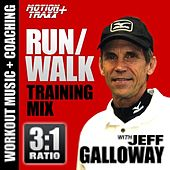 Run Walk - 3:1 Ratio (Running Interval Workout Music Mix W/coach Jeff Galloway)(5K, 10k, Half & Full Marathon Training) by Deekron 'The Fitness DJ'