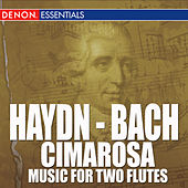 Haydn - Bach - Cimarosa - Music For Two Flutes by Various Artists
