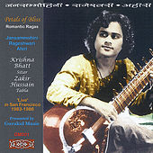 Petals of Bliss Romantic Ragas by Krishna Bhatt