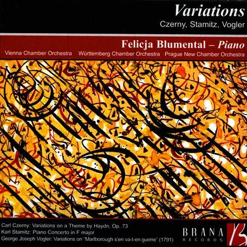 Variations: Czerny, Stamitz, Vogler by Felicja Blumental