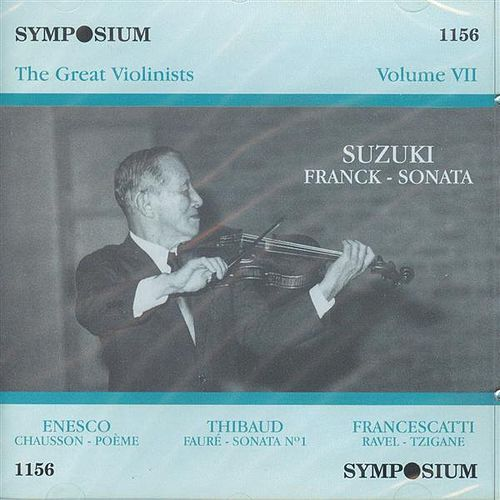 The Great Violinists, Vol. 7 by Various Artists