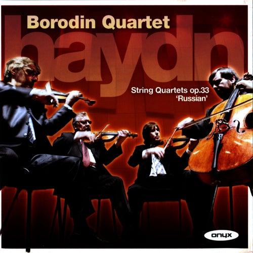 Haydn: Russian Quartets Op. 33 by Borodin Quartet
