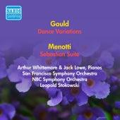 Gould, M.: Dance Variations / Menotti, G.C.: Sebastian Suite (Stokowski) (1953, 1954) by Leopold Stokowski