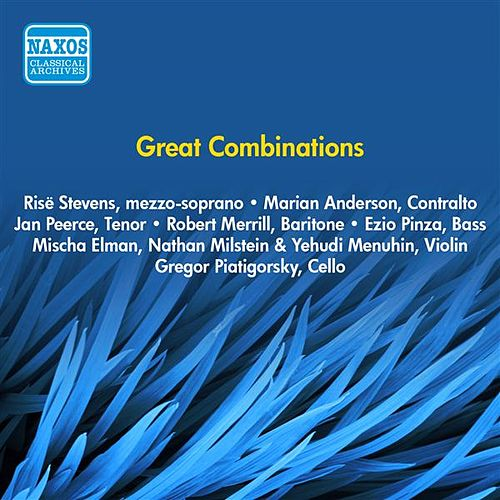 Great Combinations (1953) by Various Artists