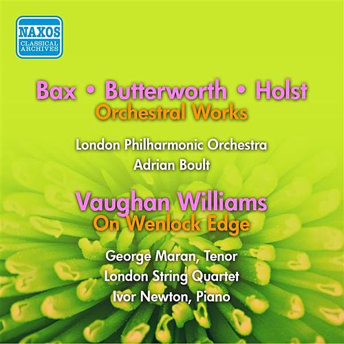 Vaughan Williams: On Wenlock Edge / Bax: Tintagel / Butterworth: The Banks of Green Willow / A Shropshire Lad (Boult) (1955, 1956) by Various Artists