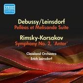 Debussy: Pelleas Et Melisande Suite / Sonata for Flute, Viola and Harp / Rimsky-Korsakov: Symphony No. 2,