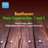 Beethoven: Piano Concertos Nos. 1, 3 (Serkin) (1953-1954) by Rudolf Serkin