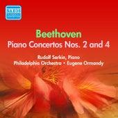 Beethoven: Piano Concertos Nos. 2, 4 (Serkin) (1954-1955) by Rudolf Serkin