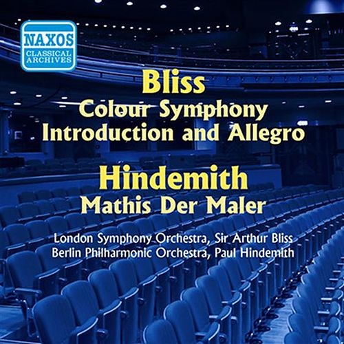 Bliss: Colour Symphony / Hindemith: Symphony, 'Mathis Der Maler' (Bliss, Hindemith) (1955) by Various Artists