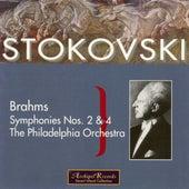 Brahms: Symphonies Nos 2 & 4 by Leopold Stokowski