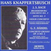Bach : Brandeburg Concerto No. 3 Suite No. 3, Violin Concerto - Händel: Concerto Grosso - Pfitzner: Palestrina by Various Artists