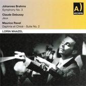 Johannes Brahms : Symphony No. 3 - Claude Debussy : Jeux - Maurice Ravel : Daphnis et Chloé by Various Artists