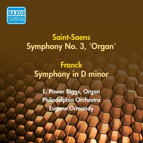 Saint-Saens, C.: Symphony No. 3, 'Organ' / Franck, C.: Symphony in D Minor (Ormandy) (1953, 1956) by Eugene Ormandy