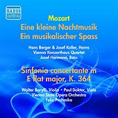 Mozart: Sinfonia Concertante, K. 364 / Eine Kleine Nachtmusik / Ein Musikalischer Spass (Prohaska) (1955) by Various Artists