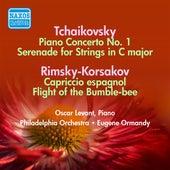 Tchaikovsky, P.: Piano Concerto No. 1 /  Serenade in C Major / Rimsky-Korsakov, N.A.: Capriccio Espagnol (Levant, Ormandy) (1947-1953) by Various Artists
