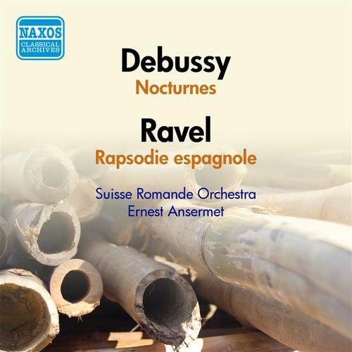 Debussy, C.: Nocturnes / Ravel, M.: Rapsodie espagnole (Suisse Romande Orchestra, Ansermet) (1951) by Ernest Ansermet