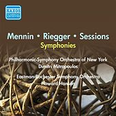Mennin, P.: Symphony No. 3 / Riegger, W.: Symphony No. 3 / Sessions, R.: Symphony No. 2 (Hanson, Mitropoulos) (1954) by Various Artists