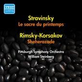 Stravinsky: Sacre De Printemps (Le) / Rimsky-Korsakov: Scheherazade (Steinberg) (1954, 1956) by William Steinberg