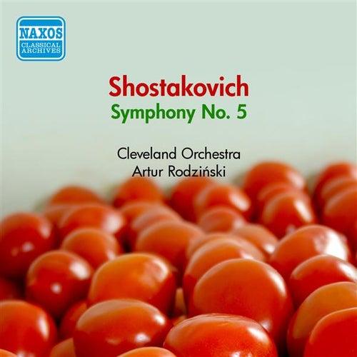 Shostakovich, D.: Symphony No. 5 (Cleveland Orchestra, Rodzinski) (1950) by Artur Rodzinski