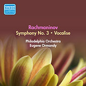 Rachmaninov, S.: Symphony No. 3 / Vocalise (Ormandy) (1954) by Eugene Ormandy