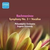 Rachmaninov, S.: Symphony No. 3 / Vocalise (Ormandy) (1954) by Eugene Ormandy