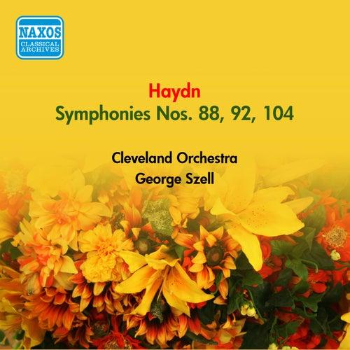 Haydn, J.: Symphonies Nos. 88, 92, 104, 'London' (Szell) (1949, 1954) by George Szell