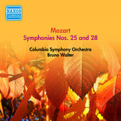 Mozart, W.A.: Symphonies Nos. 25 and 28 (Walter) (1954) by Bruno Walter