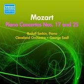 Mozart, W.A.: Piano Concertos Nos. 17, 25 (Serkin, Cleveland Orchestra, Stell) (1955) by Rudolf Serkin