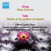 Grieg, E.: Piano Concerto / Falla, M.: Noches En Los Jardines De Espana (Curzon) (1951) by Clifford Curzon