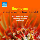 Beethoven: Piano Concertos Nos. 2 and 4 (Rubinstein) (1956) by Arthur Rubinstein