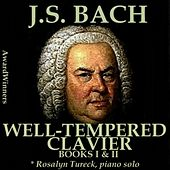 Bach, Vol. 08 - the Well-Tempered Clavier by Rosalyn Tureck